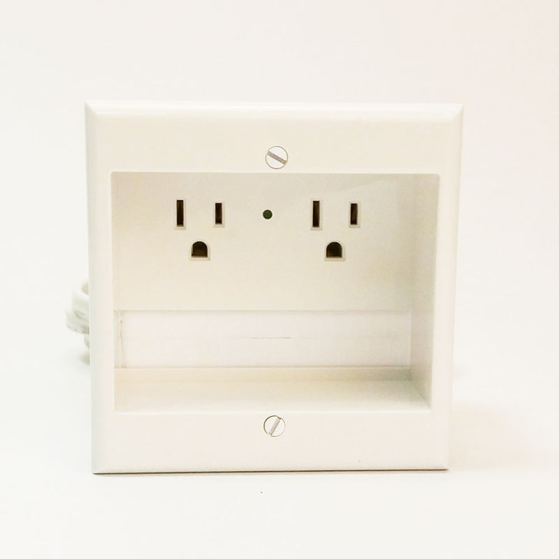 PowerBridge TWO-CK In-Wall Dual Power and Cable Management Kit