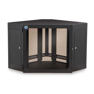Kendall Howard 12 Unit (12U) Corner Wallmount Cabinet