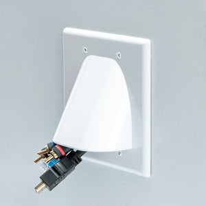 Vanco WPBW2W Bulk Cable Wall Plate Image 6
