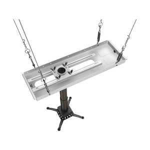 Crimson-AV JKS3-18A 12 to 18 Inch Suspended Projector Ceiling Mount Image 2