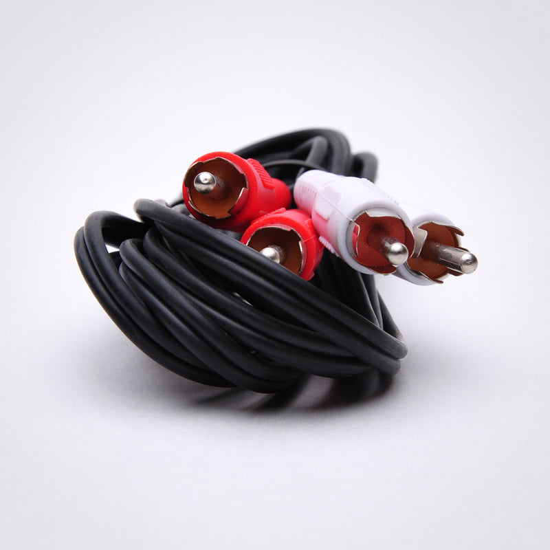2 RCA Audio Cable - Male to Male (3-100ft)