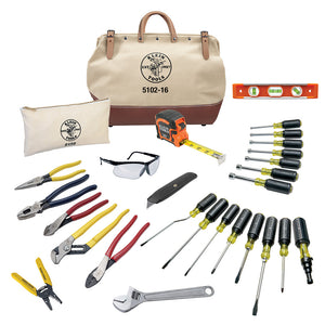 Tool Set with Utility Knife