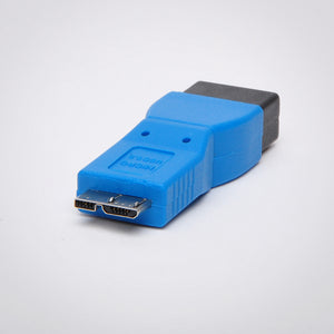 USB 3.0 A Female to Micro USB B Male Adapter - Back