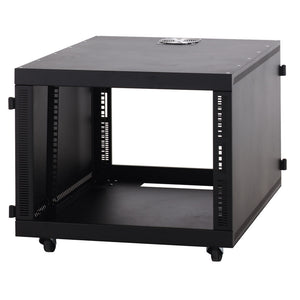 Kendall Howard 1932-3-201-08 8 Unit (8U) Compact Series SOHO Server Rack Cabinet, No Doors