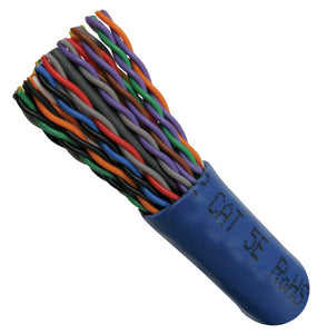 Cat5E Cable Of Ethernet With 25 Pair In Blue - Internal