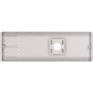 Crimson-AV CAS1W Suspended Ceiling Adapter with 4 Inch Extension Pipe