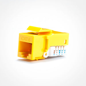 Cat6 Keystone Jack - Toolless
