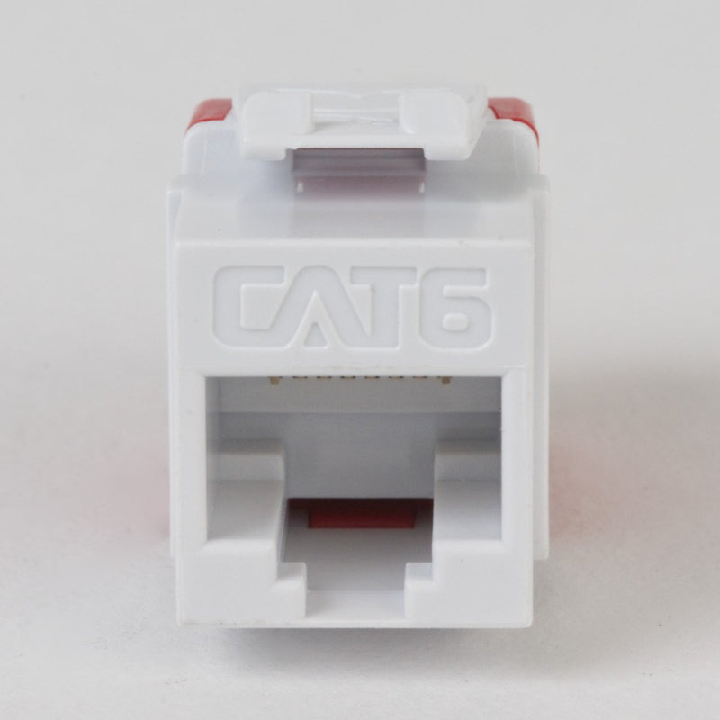 ICC Cat6 High Density Keystone Jack 25 Pack, UL