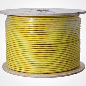 Vertical Cable 065 Series 1000ft Cat6A Plenum Solid Network Cable, UL