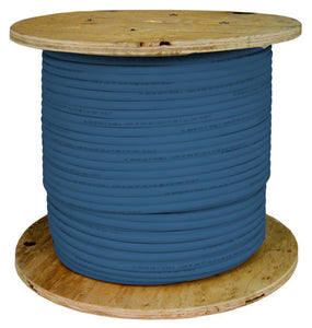 Cat5E Bulk Vertical Cable In 1000ft 24AWG 50 Pair Blue