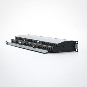 Vertical Cable 042-C6A/48 CAT6A Shielded 48 Port Patch Panel Image 4