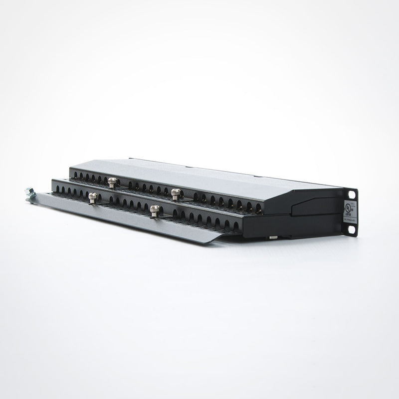 Vertical Cable 042-C6A/48 48 Port Shielded CAT6A Patch Panel