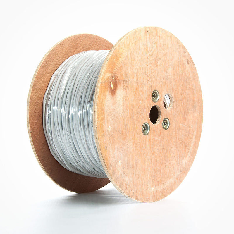 Vertical Cable 1000ft 14 Gauge In-Wall Speaker Wire - CL3 14/2, White
