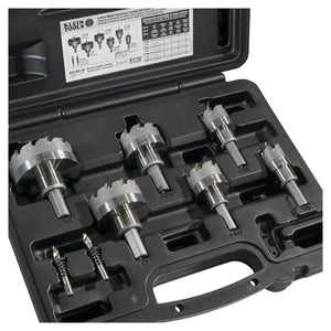 Klein Tools 31873 Master Electricians Hole Cutter Kit, 8 Pc