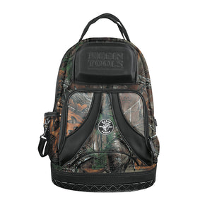 Klein Tools Tradesman Pro Organizer Backpack Camo Front