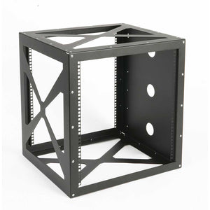 Kendall Howard 1915-3-200-12 12 Unit (12U) Wall Mount Rack - Side Load