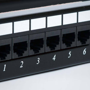 12 Port CAT6 Patch Panel with Bracket Image 5