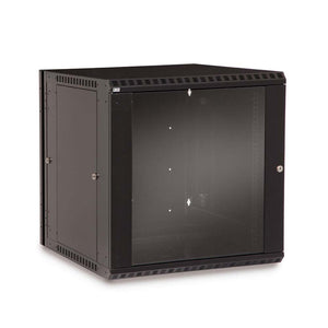 Kendall Howard 12 Unit (12U) Swing-Out Wall Mount Cabinet