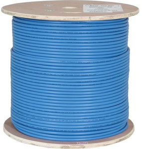 Vertical Cable 1000ft Solid Shielded Cat6 Cable - 23AWG STP 550MHz CMR