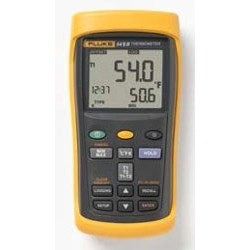 FLUKE-51-2 60HZ Digital Thermometer, Single Input, +/- 0.3 Deg C, +/- 0.05 Percent, 60 Hertz Noise Rejection