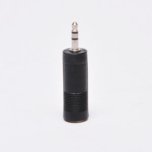 3.5mm Stereo Male to Quarter Inch Stereo Female Adapter