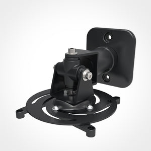 Universal Articulating Projector Wall and Ceiling Mount, Black Image 2