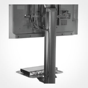 Peerless-AV SR560M SmartMount Flat Panel TV Cart Closeup