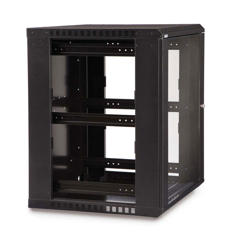 Kendall Howard 15 Unit (15U) Fixed Wall Mount Cabinet
