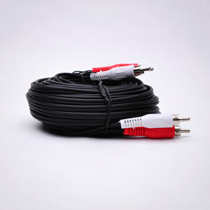 50ft 2 RCA Audio Cable - Male to Male Image 2