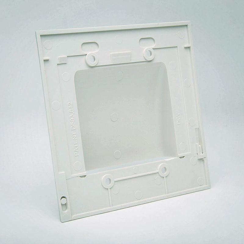 Vanco Hinged Bulk Cable Wall Plate