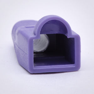 RJ45 Strain Relief Boots - 100 Pack, Purple Image 2