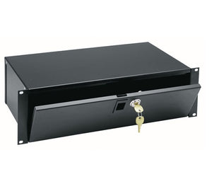 Middle Atlantic 4 Space Lockbox, 9 Inch Depth