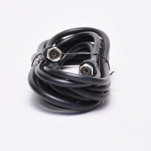 12ft RG-59 Coax Cable - F Type, Black
