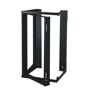 Quest SR1935-20-02 20 Unit (20U) Swing-Out Wall Mount Extended Rack