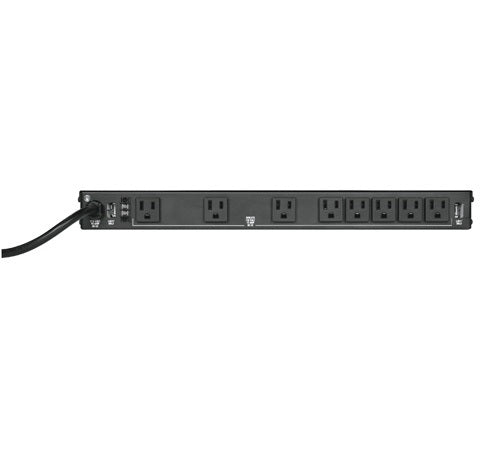 Middle Atlantic PDLT-815RV-RN - 8 Outlet 15A Rackmount Power & Light, 2-Stage Surge