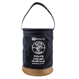 Flame-Resistant Canvas Bucket