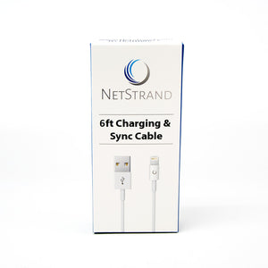 NetStrand 6ft Lightning Cable - Lightning to USB, MFi Certified Box