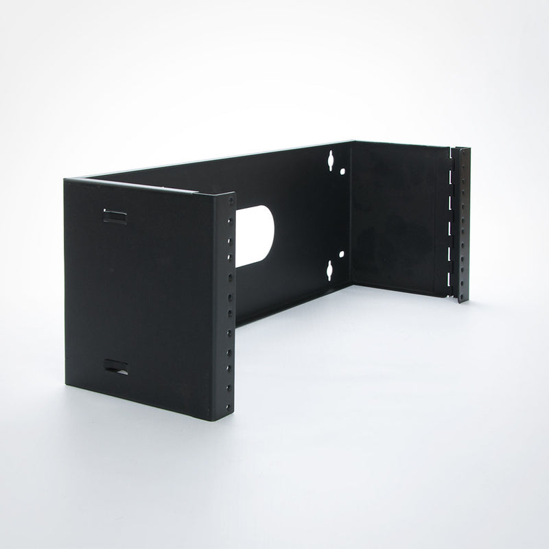 Quest Hinged Patch Panel Wall Mount Bracket - 6 Inch Depth