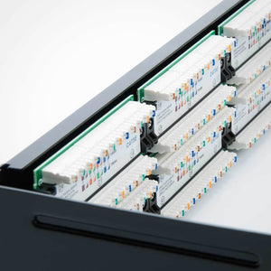 48 Port CAT5E Patch Panel with Bracket Image 6