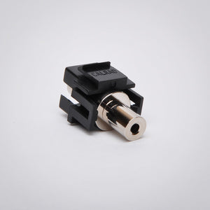 3.5mm Keystone Jack - Stereo Coupler Side View