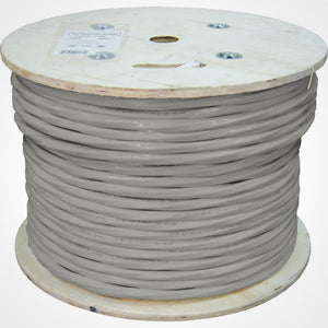 Vertical Cable 1000ft Bulk Solid CAT3 Cable 24AWG CMR 100 Pair