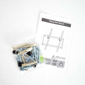 Tilting TV Wall Mount Instruction Manual and Hardware