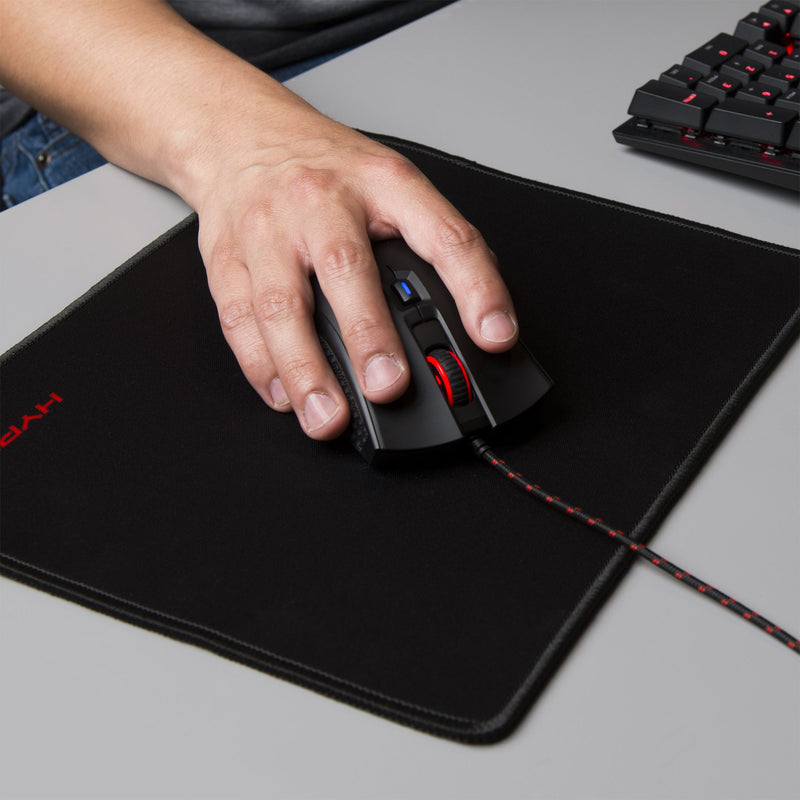HyperX FURY S Pro Gaming Mouse Pad - Textured, Cloth, Rubber, Woven Fabric - Anti-fray, Wear Resistant, Tear Resistant