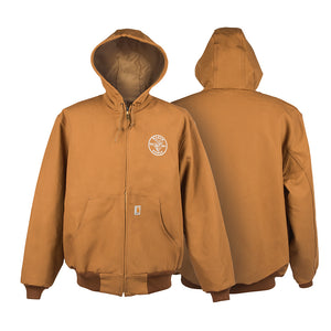 Klein Tools Carhartt® Hooded Jacket with Lineman Logo