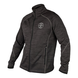 Klein Tools North End® Zipper Fleece Jacket, Lineman Logo