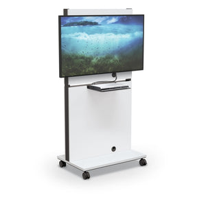MooreCo MediaSpace Flat Panel Cart
