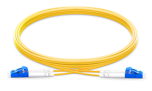 Techlogix Networx Standard fiber patch cord -- (1-10m) duplex single mode OS2 2.0mm fiber (LC/LC, LC/SC, SC/SC)
