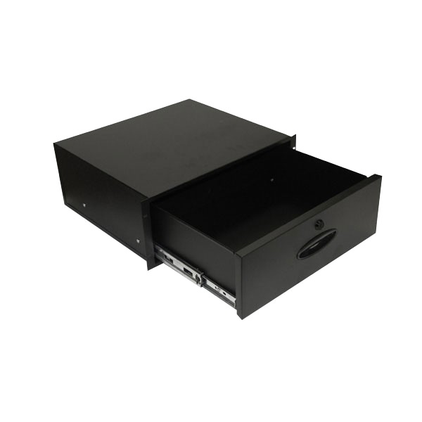 FORGE Lockable Component Drawers with Rear Knockouts
