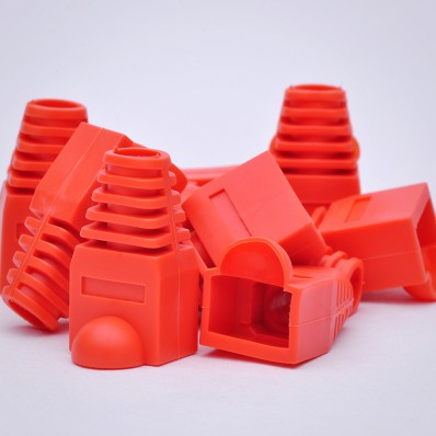 RJ45 Strain Relief Boots - 100 Pack