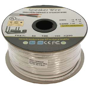 2 Conductor In-Wall Speaker Wire - CL2 OFC